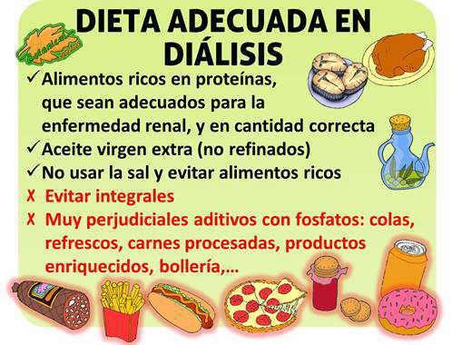 dieta dialisis saludable