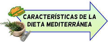 dieta mediterranea caracteristicas