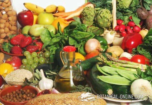foto vegetales dieta variada