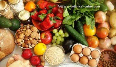 foto de dieta equilibrada, alimentos
