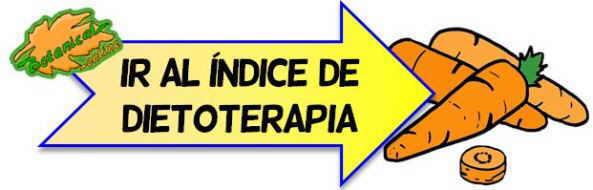 dietoterapia indice dietas curativas