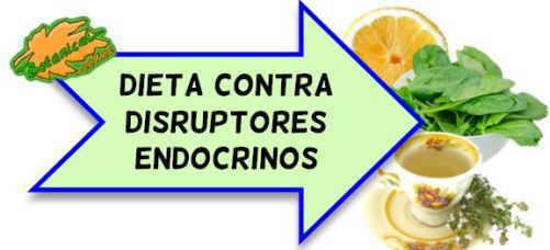 dieta disruptores endocrinos