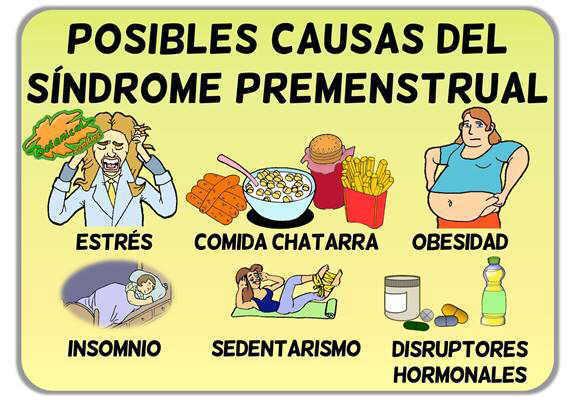 causas del dolor menstrual sindrome premenstrual dolor ovarios regla menstruacion