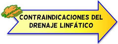 contraindicaciones del drenaje linfatico