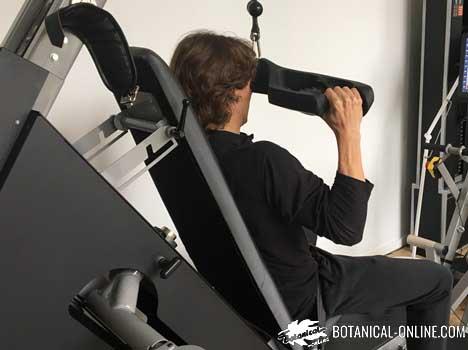 ejercicio en maquinas