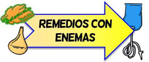 enemas remedios naturales