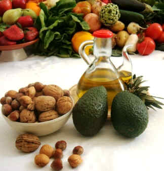 Fats of Mediterranean diet