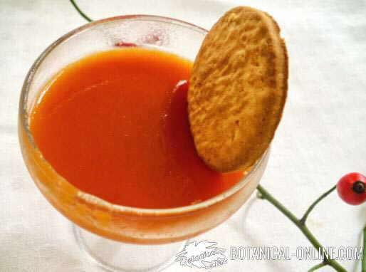 receta jalea o jarabe de escaramujo