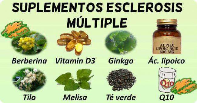 tratamiento natural esclerosis multiple plantas medicinales y remedios