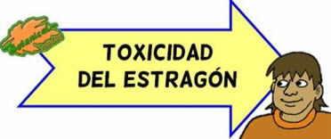 toxicidad del estragon