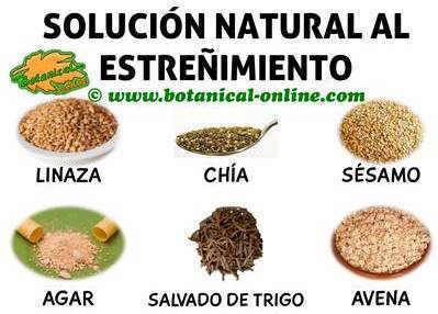 solucion natural al estreñimiento con plantas alimentos y dietas para el tratamiento casero