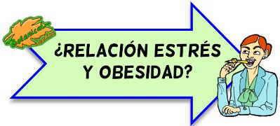 estres obesidad relacion