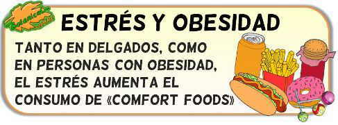 estres y obesidad causa