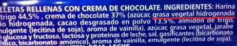 etiqueta galletas con grasas trans