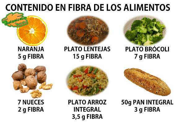 alimentos ricos en fibra, cantidad de las frutas verduras y legumbres