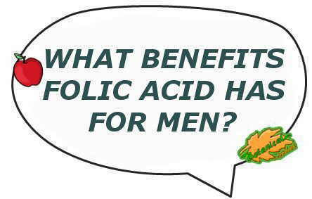 folic acid benefits for men