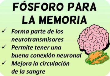 propiedades fosforo para la memoria