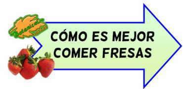 como es mejor comer fresas