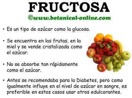 Fructosa diabetes