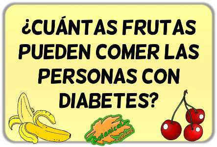 Fruta para la diabetes