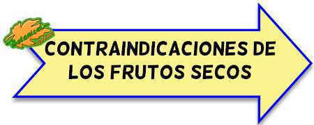 contraindicaciones de los frutos secos