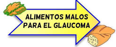 alimentos prohibidos glaucoma