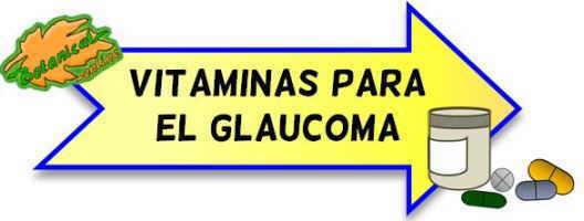 vitaminas para el glaucoma