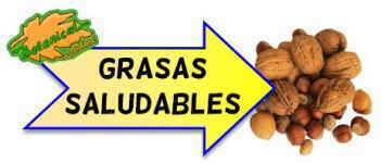 grasas saludables cartel