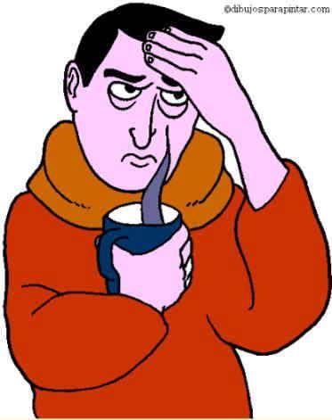 gripe causante de dolor muscular