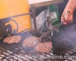 hamburguesas asadas barbacoa