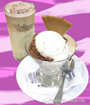 helado y batido