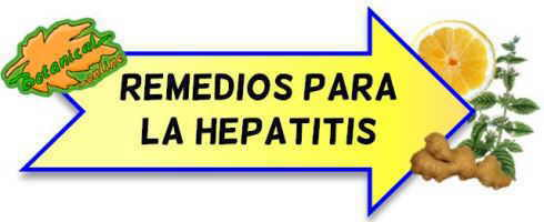 hepatitis remedios naturales