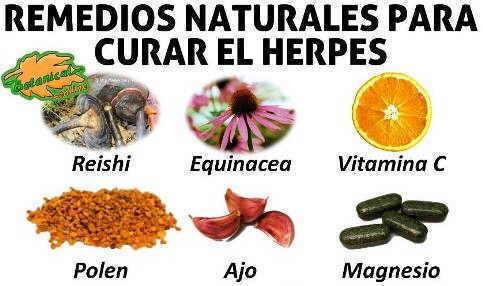 remedios naturales herpes alimentos y plantas medicinales