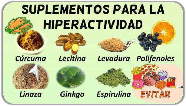 remedios naturales con plantas medicinales para la hiperactividad y deficit de atencion tdah