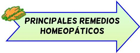 principales remedios botiquin homeopatico