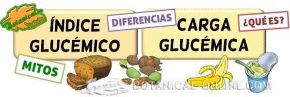 diferencias indice glucemico carga glucemica