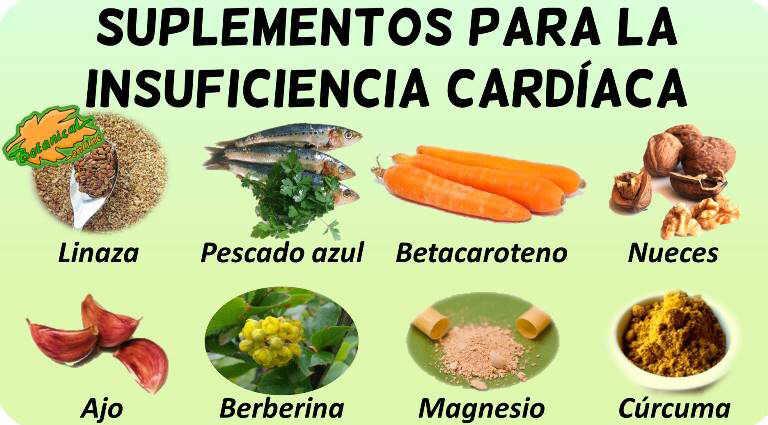 insuficiencia cardiaca plantas medicinales curar tratamiento natural