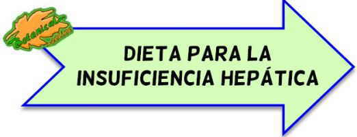 dieta insuficiencia hepatica