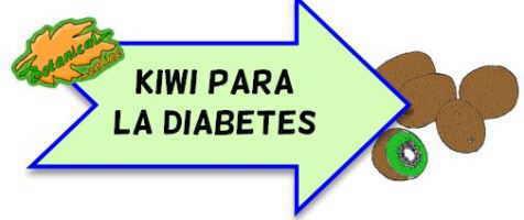 kiwi para la diabetes