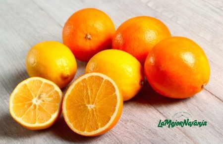 naranjas abiertas
