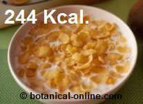 leche con cereales