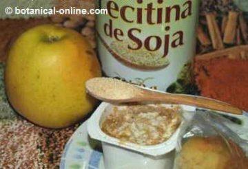 Lecitina de soja rica en inositol