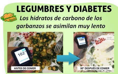 legumbres diabetes azucar indice carga glucemica