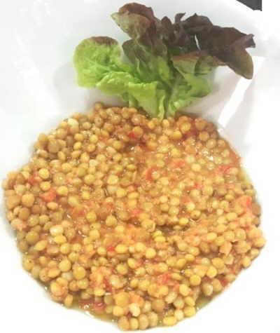 lentejas con tomate