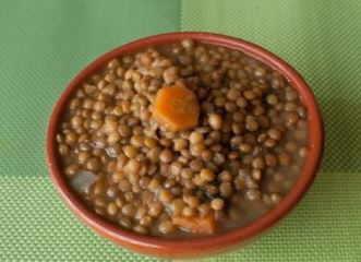 receta lentejas vegetarianas