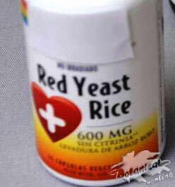 levadura roja arroz