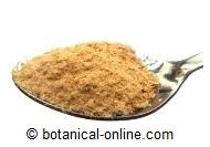 levadura de cerveza es riquísima en vitamina B5 o ácido pantoténico