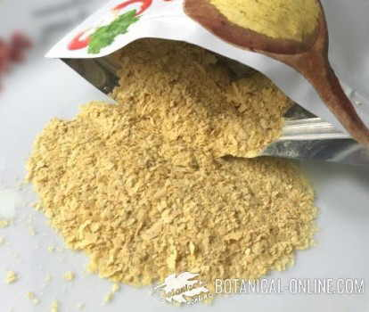 nutritional beer yeast in flakes