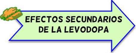 efectos secundarios levodopa