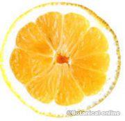 foto de medio limon amarillo meyer